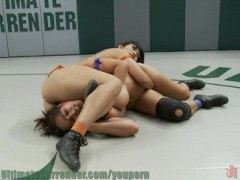 Dragon vs Goddess in Winner Fucks Loser Wrestling