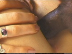 Your huge black dick feels great in my ass