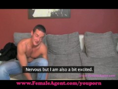 FemaleAgent. Don't cum inside me