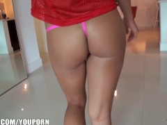 Petite GF loses a bet to her man and tries anal for the first time