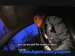 PublicAgent Lost and alone but she fucks very nicely in my car