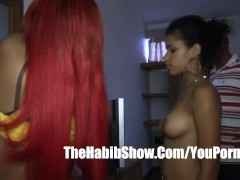 Dominican red phat booty lesbain love affair