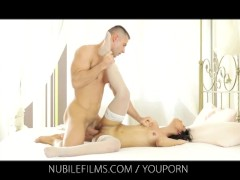 Nubile Films - Shoot your cum load on her perfect round ass