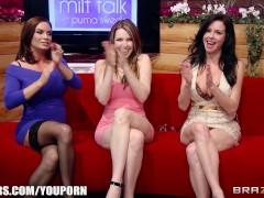 Brazzers Live MILF TALK- Next Show 08-21-2013 3pm EST 12 pm PST