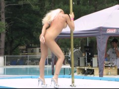 Stripper Competition Outdoors