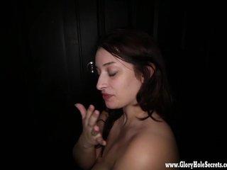 Blow Jobs Blowjobs Cum In Mouth video: Gloryhole Secrets BBW Tiffany loves every drop of cum 2