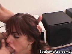 Ass hungry Taylor Kross licks Bunghole then gets dumped with hot cum on pussy