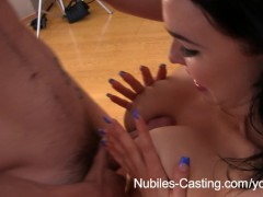 Nubiles Casting - She wants this job bad!