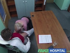 FakeHospital Blonde seduces doctor to get her own way