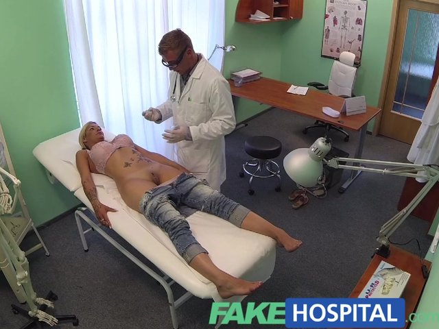 Fake hospital doctors cock in patient pussy 7