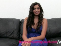 Squirting Anal Loving Teen on Casting Couch