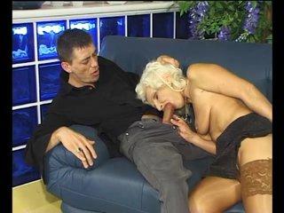 Euro German Babe video: Sucking off his hard stick - Julia Reaves