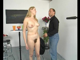 Blowjob Dildo Fingering video: Blonde euro chick gets dirty - Julia Reaves