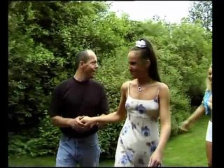 Blonde Brunette Ffm video: Three Is The Lucky Number - Julia Reaves