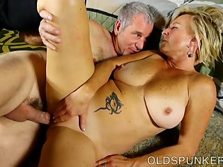 Fuck Loves Super video: Saucy old spunker is a super hot fuck and loves sticky facials