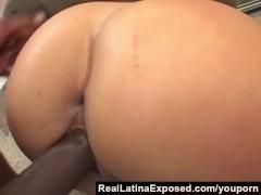 RealLatinaExposed - Casandra Cruz Rides a Big Black Cock