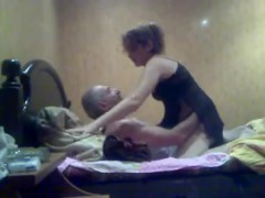 ARAB - OLD MAN WITH HER OFFICE COLLEUGE - 888camgirls.com