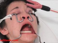 Bizarre asian medical bdsm and oriental Mei Maras doctor fetish  play