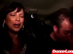 Donny Long fucks Milf Mom asshole with his boy J