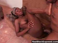 RealBlackExposed - His Mutant Cock Barely Fits