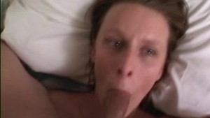 deep blowjob with cumshot