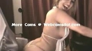 Big ass thong webcam girl