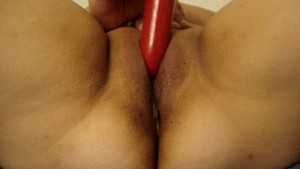 Peruana Playing with Vibrator