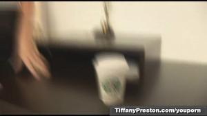Pantyhose at work part 1of 3 - TifanyPreston