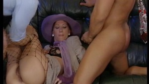 Lady In Purple Loves It In The ASS Pt.1/3