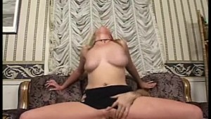 Cockhungry Blonde Pussyload of Jizz
