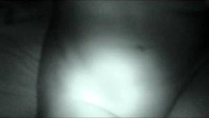 MILF blowjob night cam style