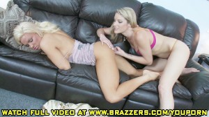Diamond Foxxx And Samantha Ryan - She Took Her!