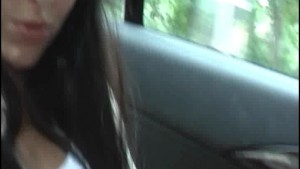 Using a dildo during a taxi ride (100% real...)
