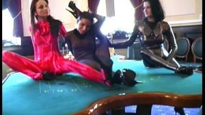 Spandex fun in the casino