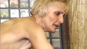 Trim granny fucked by younger guy