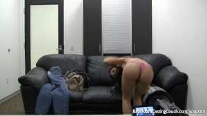 "middle eastern girl swallows for a ""job"" only at pornmike.com"
