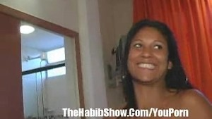 Brazilian Housewife Fucks Black Tourist Intro P1