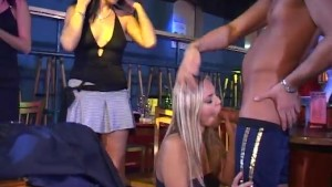 Lucky guys gets to fuck the party girls