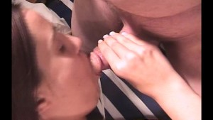 Inserting her first cock in her mouth pt 1/3
