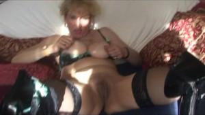 Mature Milf Finger Fucks Her Pussy