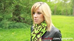 Blondine aus Koeln