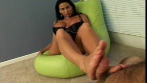 Foot fetisher having great sex