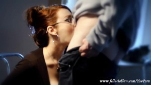Fellucia Blow Gives a Blowjob Appetizer