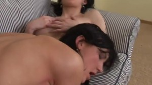 Lucky guy and two horny babes