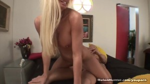 Big Titty Blonde Blowjob And Pussy Slammed