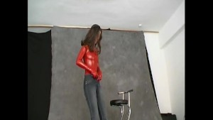 crazyspandexgirl hanka posing