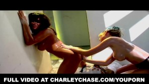 Madison Scott and Charley Chase