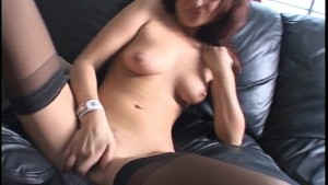 Dani stirs her honey pot until it s hot (clip)