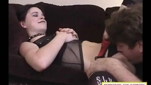 Goth brunette getting fucked