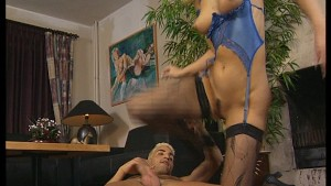 blonde guy and blonde gal suck and touch and fuck